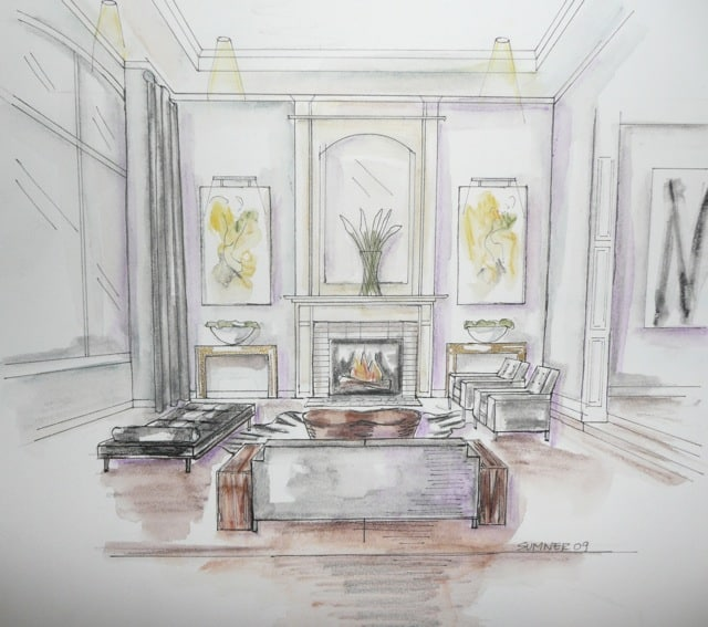 below are hand drawings from the talented barbara sumner of sumner