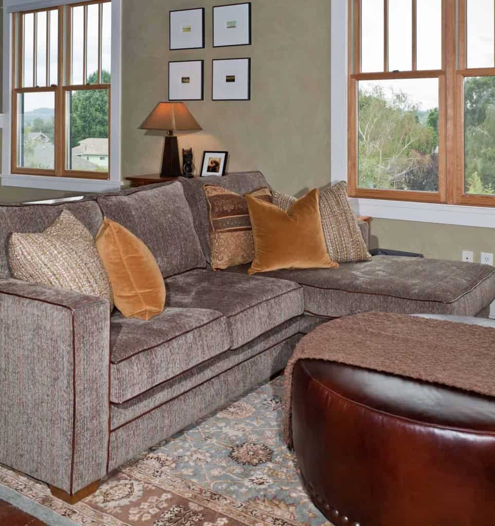 Custom Sofa & Ottoman