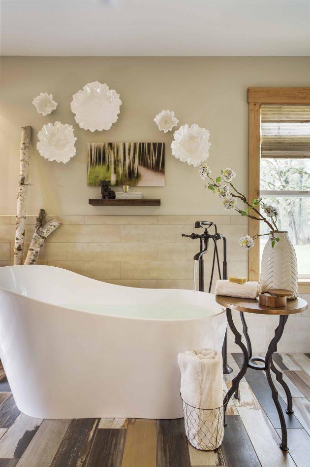 Bath vessel tub in Portland Oregon by Angela Todd