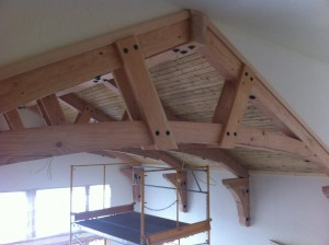 New Construction Beam, Truss, Tongue and Groove