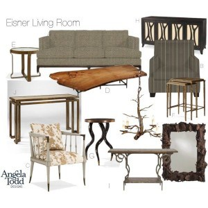 Digital Interior Design Board
