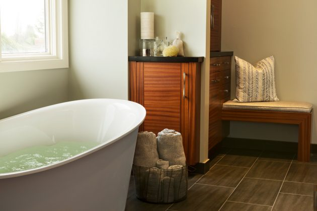 Cedar Mills Master Bathroom Bath Tub Design