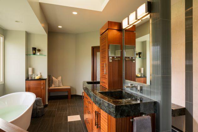 Cedar Mills Master Bathroom Interior Design