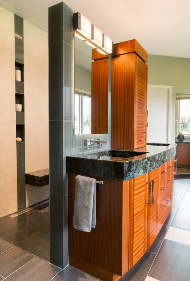 Cedar Mills Master Bathroom Interiors