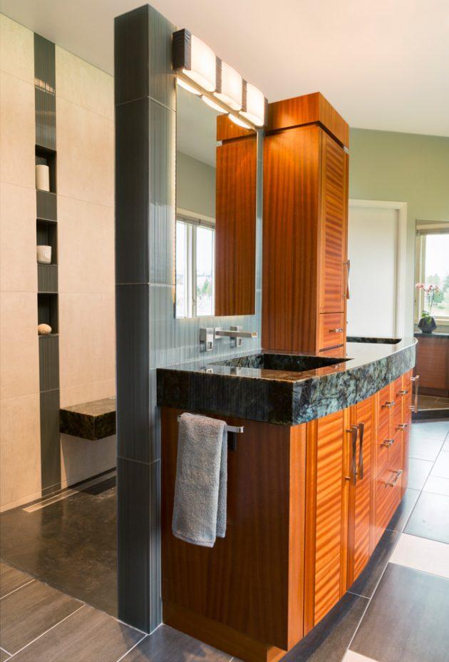 Cedar Mills Master Bathroom Interiors