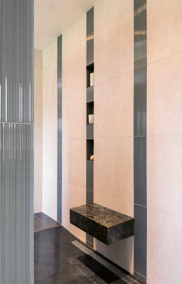 Cedar Mills Master Bathroom Shower Tile Design