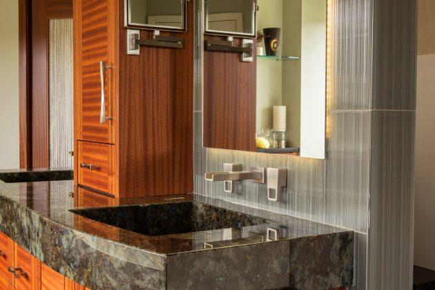 Cedar Mills Master Bathroom Vanity Design
