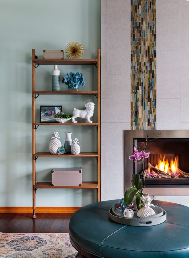 Cooper Mountain Jewel Fire Place Design