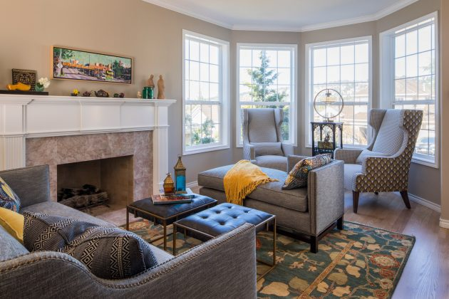 Forest Heights Vista Living Room Design