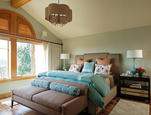 Mason Hill Vineyard Master Bedroom Design
