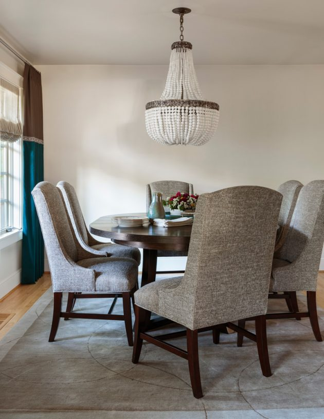 Sylvan Heights Bungalow Dining Area Design