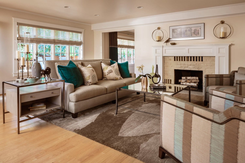 Sylvan Heights Bungalow Living Room Interior
