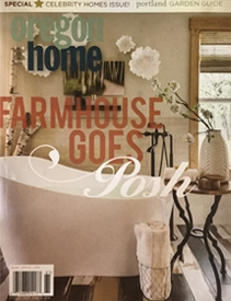 Oregon Home Magazine Farmhouse Goes Posh