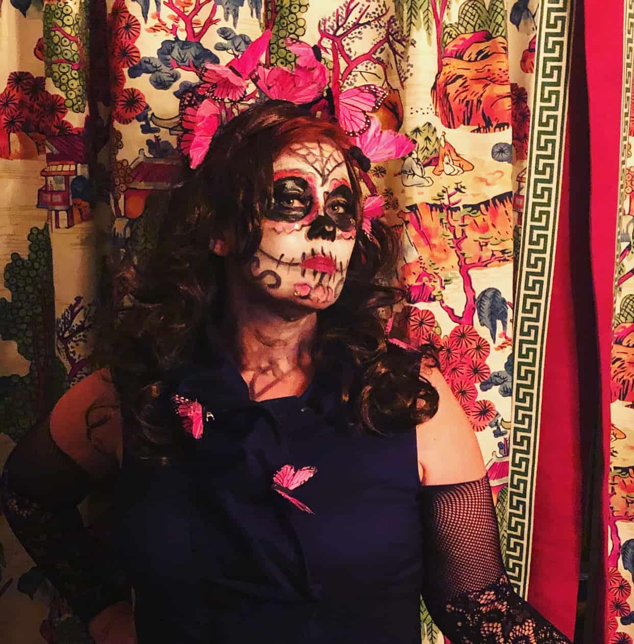 Halloween costume Angela Todd