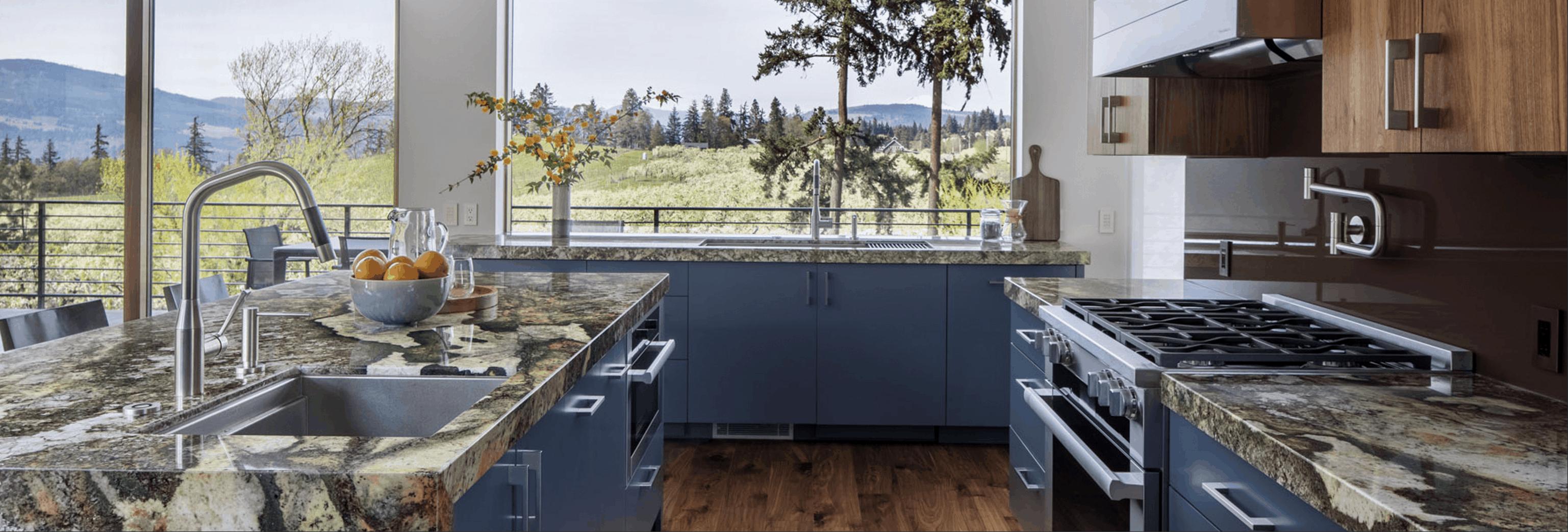 Oregon Modern Kitchen