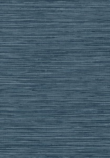 Wallpaper Blue Grasscloth