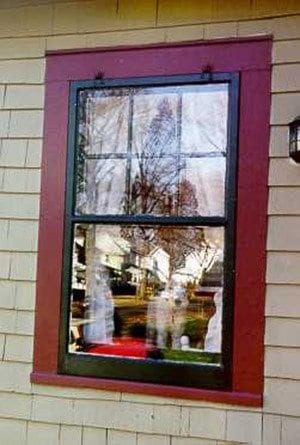 Wood Hanging Storm Window