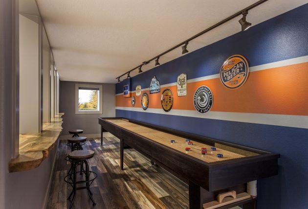 Shuffleboard beaverton room